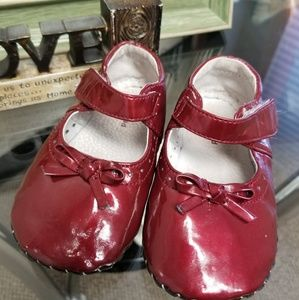 Baby toddler pediped shoes size 18-24 months red
